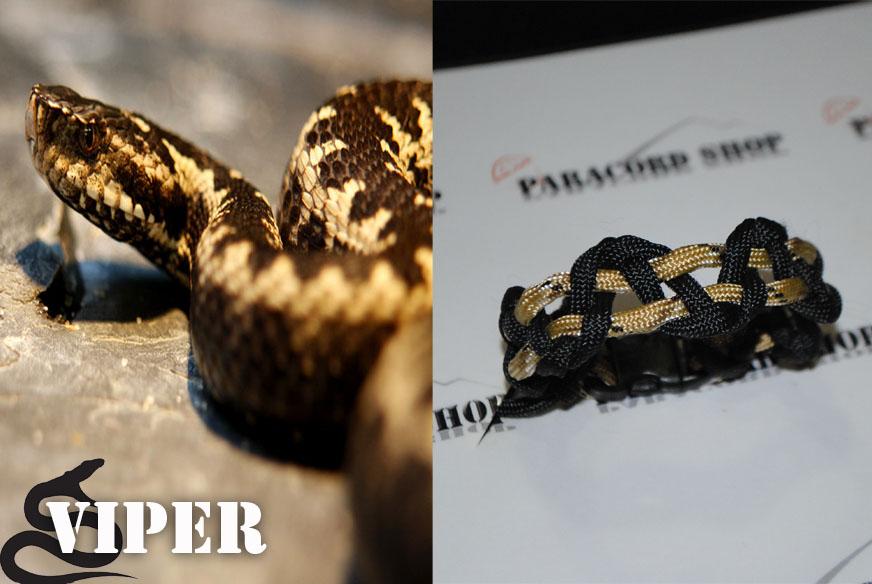 Viper , Bracciale in PARACORD 550