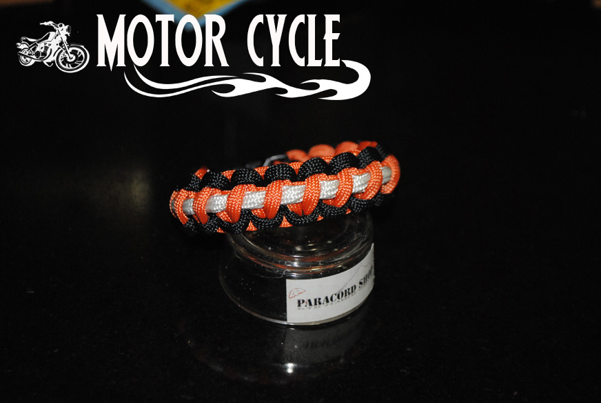 MOTORCYCLE bracciale in paracord 550