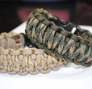Combat Bracelet , PARACORD 550 , COMBAT KING COBRA