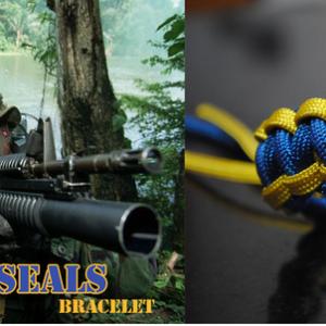 Survival Bracelet – Navy Seals Special Edition N°1