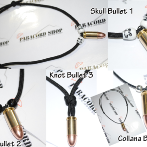 Collana con Proiettile , Pallottola 9mm