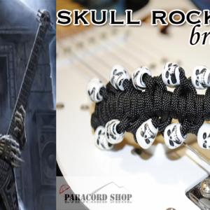 Skull Rock – Braccialetto in Paracord