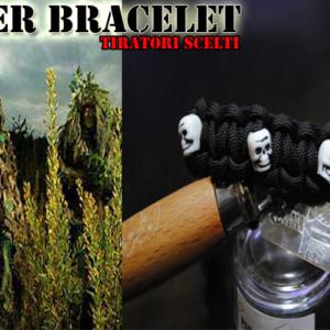 Survival Bracelet – Sniper – Tiratori Scelti – Special Edition N°4