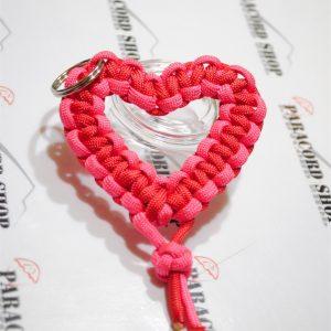 Cuore di Corda in PARACORD 550 , Speciale San Valentino