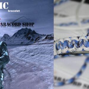 Artic , Bracciale in PARACORD 550