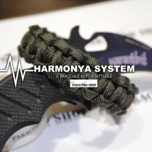 Harmonya , IL RIVOLUZIONARIO BRACCIALE IN PARACORD AUTO ADATTABILE