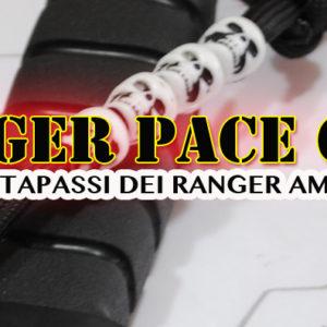 Ranger PACE COUNTER , il contapassi dei Ranger americani in PARACORD 550 con teschi o perline