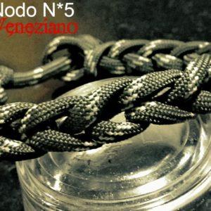 Arte del Nodo N°5 – VENEZIANO – Bracciale in Paracord 550