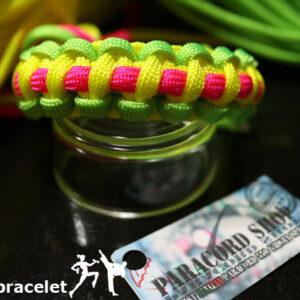 Paracord Fitness Bracelet , braccialetto in PARACORD 550