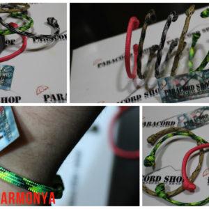 Parastyle Harmonya, bracciale in paracord 550 autoadattabile