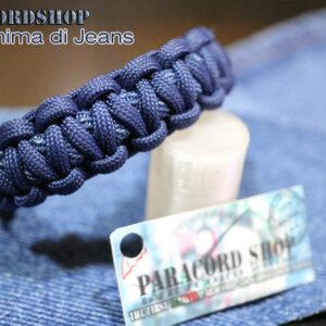 Anima di Jeans, Bracciale in Paracord 550 e Blue Jeans