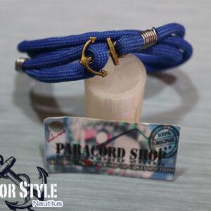 Sailor Style Nautilus – Bracciale Marinaro in PARACORD 550 , Acciaio e Ancora