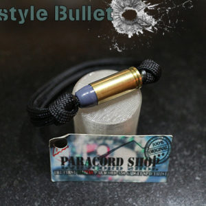 Parastyle Bullet – Bracciale con paracord 550 e Proiettile 9mm