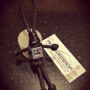 Paraman Star Wars Edition , Omino in Paracord 550 con personaggi di Star Wars
