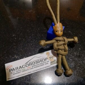 Paracord Buddy – Baby Groot