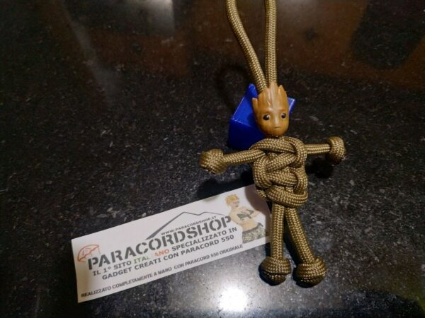 paracord buddy baby groot