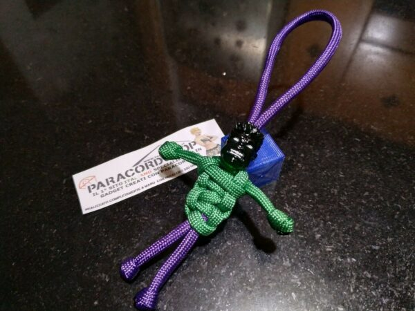 paracord buddy hulk